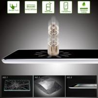 "Super odolné 0.4mm tenké 9H+ tvrzené sklo s 2.5D zaoblenou hranou (Tempered Glass) pro Apple iPad Pro 9.7"" / iPad Air 2 / iPad Air"
