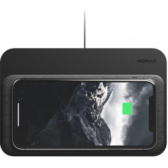 Nomad Base Station duální bezdrátová nabíječka - černá NM30011A30 - možnost vrátit zboží ZDARMA do 30ti dní