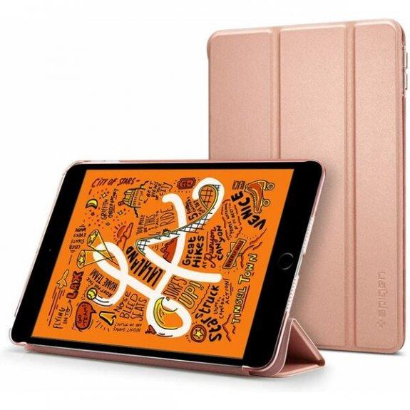 Spigen Smart Fold pouzdro pro iPad mini 4 / 5 - růžovozlaté - možnost vrátit zboží ZDARMA do 30ti dní