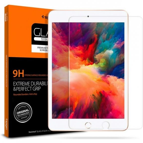 Spigen 2D tvrzené sklo pro Apple iPad mini 4 / 5 051GL26118 - možnost vrátit zboží ZDARMA do 30ti dní