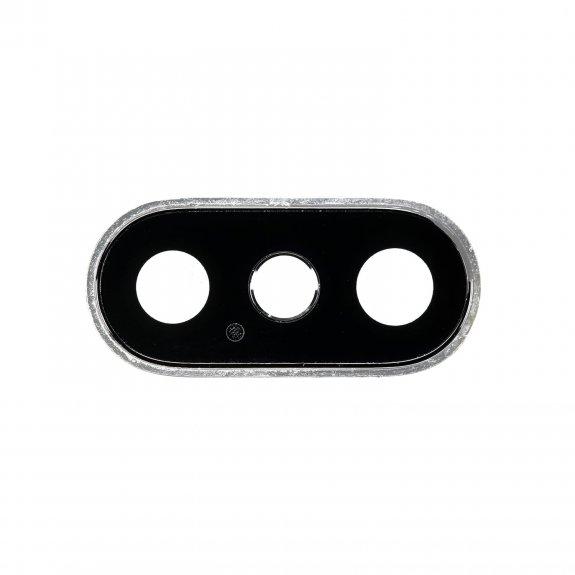 AppleKing náhradní ocelový kruh zadní kamery pro Apple iPhone 11 - bílá - možnost vrátit zboží ZDARMA do 30ti dní