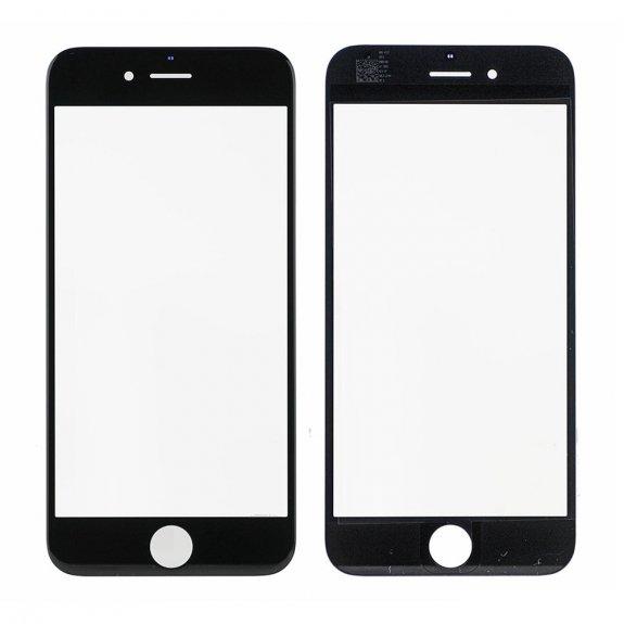 AppleKing přední dotykové sklo, včetně OCA lepidla, rámečků pro přední fotoaparát, proximity sensor a mřížky pro sluchátko, pro iPhone 6 - černá - možnost vrátit zboží ZDARMA do 30ti dní