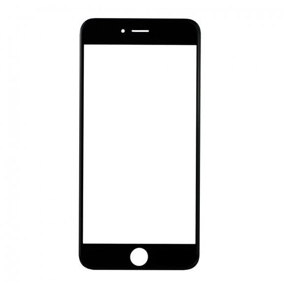 AppleKing přední dotykové sklo, včetně OCA lepidla, rámečků pro přední fotoaparát, proximity sensor a mřížky pro sluchátko, pro iPhone 6 Plus - černá - možnost vrátit zboží ZDARMA do 30ti dní