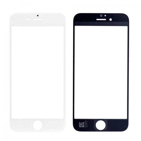 AppleKing přední dotykové sklo, včetně OCA lepidla, rámečků pro přední fotoaparát, proximity sensor a mřížky pro sluchátko, pro iPhone 6S - bílá - možnost vrátit zboží ZDARMA do 30ti dní