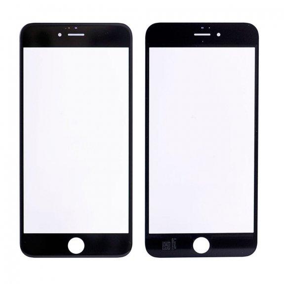 AppleKing přední dotykové sklo, včetně OCA lepidla, rámečků pro přední fotoaparát, proximity sensor a mřížky pro sluchátko, pro iPhone 6S Plus - černá - možnost vrátit zboží ZDARMA do 30ti dní