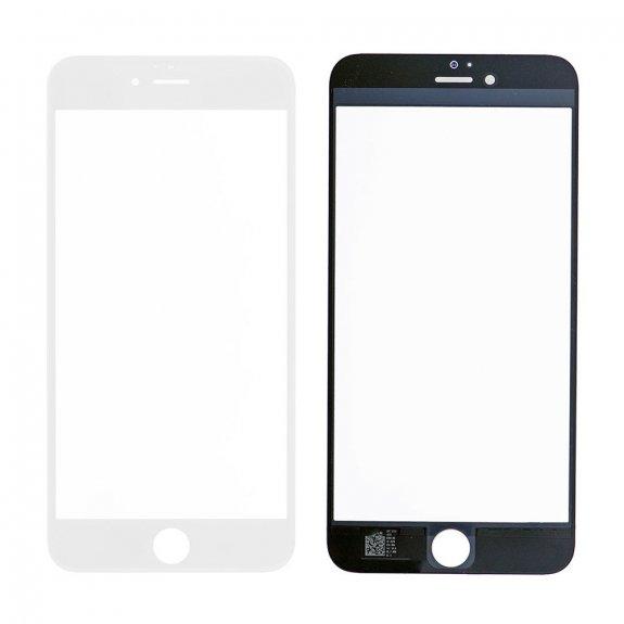 AppleKing přední dotykové sklo, včetně OCA lepidla, rámečků pro přední fotoaparát, proximity sensor a mřížky pro sluchátko, pro iPhone 6S Plus - bílá - možnost vrátit zboží ZDARMA do 30ti dní