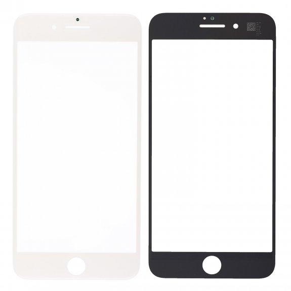 AppleKing přední dotykové sklo, včetně OCA lepidla, rámečků pro přední fotoaparát, proximity sensor a mřížky pro sluchátko, pro iPhone 8 Plus - bílá - možnost vrátit zboží ZDARMA do 30ti dní