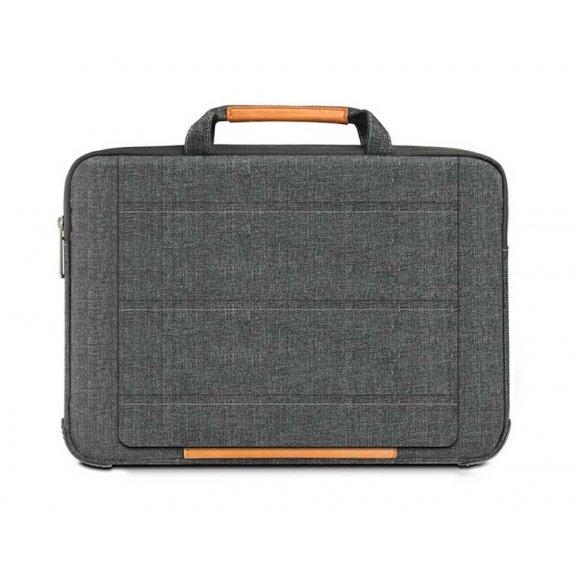 """AppleKing multifunkční brašna se stojánkem pro MacBook 12"""" - šedá - možnost vrátit zboží ZDARMA do 30ti dní"""