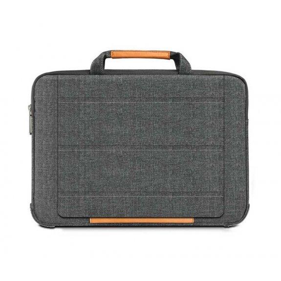 """AppleKing multifunkční brašna se stojánkem pro MacBook Pro 15"""" - šedá - možnost vrátit zboží ZDARMA"""