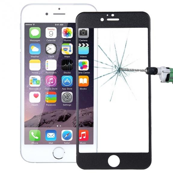 HAWEEL super odolné zrcadlové 2.5D 9H+ tvrzené sklo (Tempered Glass) pro Apple iPhone 6 Plus / 6S Plus - 0.26mm - černé - možnost vrátit zboží ZDARMA do 30ti dní