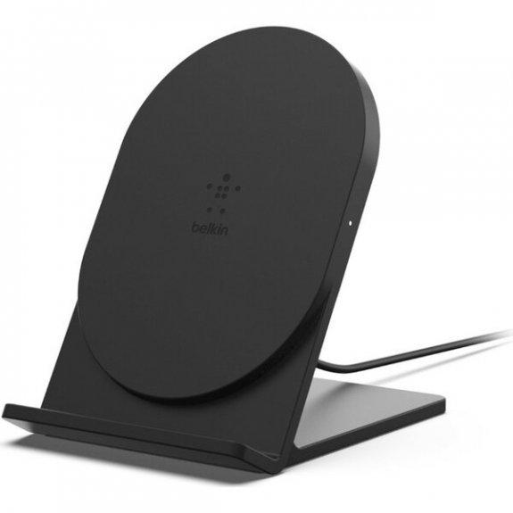 Belkin bezdrátová Qi stojánková nabíječka 5W pro iPhone - černá F7U070btBLK - možnost vrátit zboží ZDARMA do 30ti dní