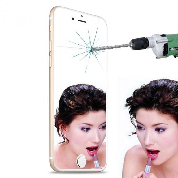 HAWEEL super odolné zrcadlové 2.5D tvrzené sklo (Tempered Glass) pro Apple iPhone 6 Plus / 6S Plus - 0.3mm - možnost vrátit zboží ZDARMA do 30ti dní