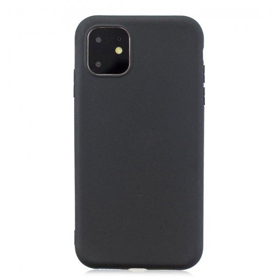 AppleKing měkký ochranný kryt pro iPhone 11 - černý - možnost vrátit zboží ZDARMA do 30ti dní