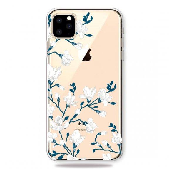AppleKing měkký plastový kryt pro iPhone 11 - magnolie - možnost vrátit zboží ZDARMA do 30ti dní