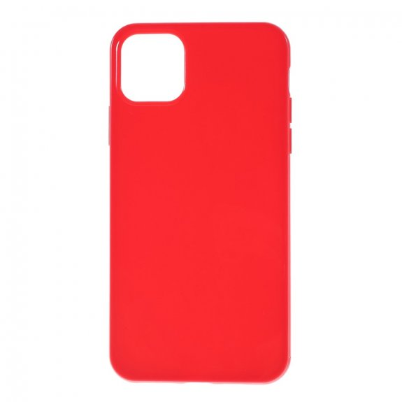 AppleKing hladký plastový kryt pro iPhone 11 - červený - možnost vrátit zboží ZDARMA do 30ti dní