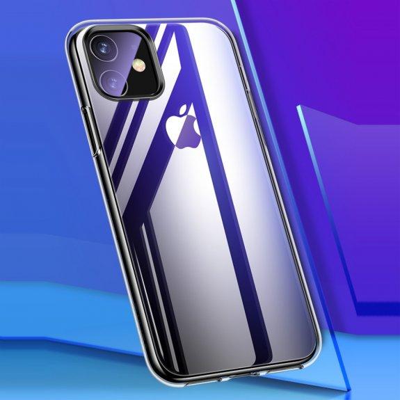 AppleKing usams lesklý kryt pro iPhone 11 - transparentní - možnost vrátit zboží ZDARMA do 30ti dní