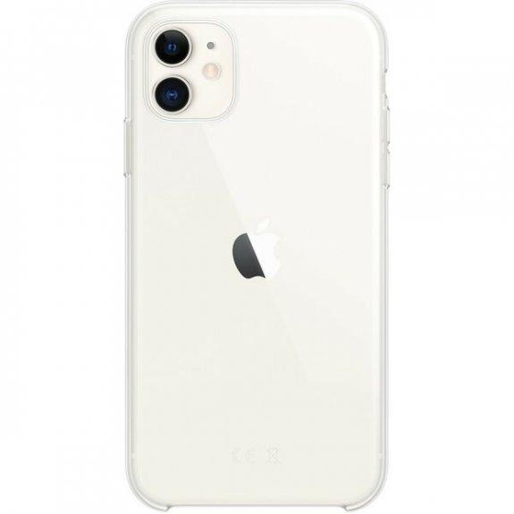 Originální Apple kryt z měkkého plastu pro iPhone 11 - čirý MWVG2ZM/A - možnost vrátit zboží ZDARMA do 30ti dní