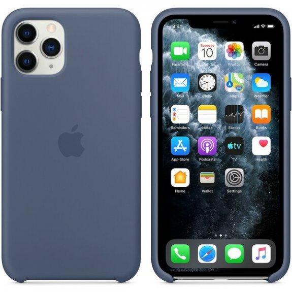 Originální Apple silikonový kryt pro iPhone 11 Pro - seversky modrý MWYR2ZM/A - možnost vrátit zboží ZDARMA do 30ti dní