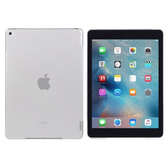 Plastový matný průhledný kryt pro iPad mini 4 s výřezem pro Smart Cover