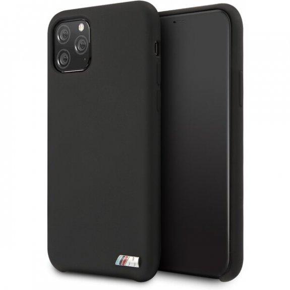 BMW silikonový kryt pro iPhone 11 - černý 3700740462249 - možnost vrátit zboží ZDARMA do 30ti dní