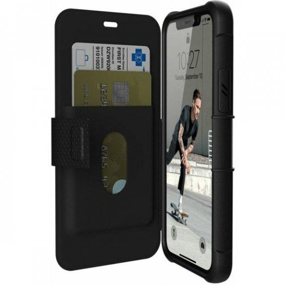UAG Metropolis odolné flipové pouzdro pro iPhone 11 Pro - černé 111706114040 - možnost vrátit zboží ZDARMA do 30ti dní
