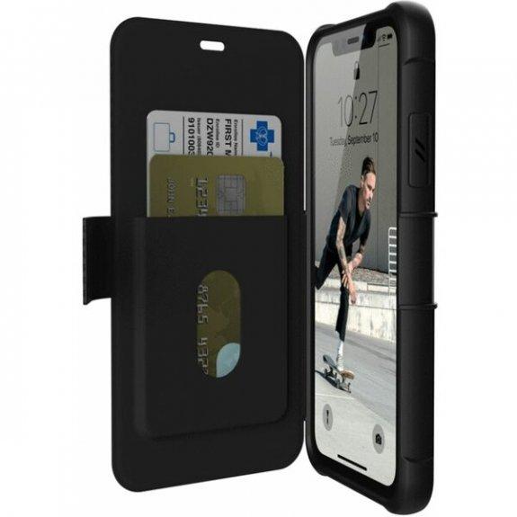 UAG Metropolis odolné flipové pouzdro pro iPhone 11 - černé 812451032437 - možnost vrátit zboží ZDARMA do 30ti dní