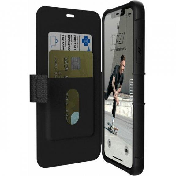 UAG Metropolis odolné flipové pouzdro pro iPhone 11 Pro Max - černé 812451032604 - možnost vrátit zboží ZDARMA do 30ti dní