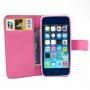 Pouzdro s integrovaným stojánkem a prostoren na doklady pro iPhone 5 / 5S / SE - sloni