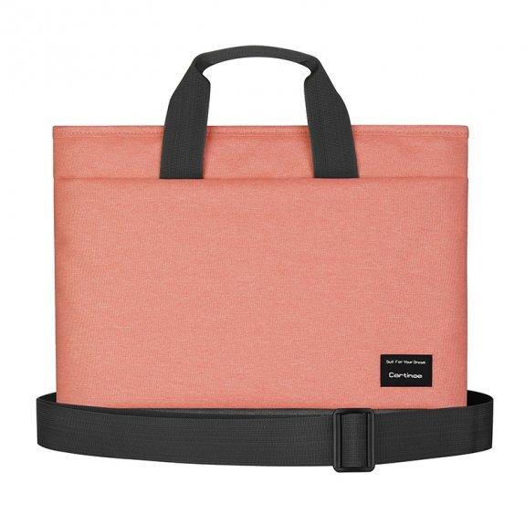 """Cartinoe brašna ve stylu kabelky pro MacBook 13"""" - růžová - možnost vrátit zboží ZDARMA do 30ti dní"""