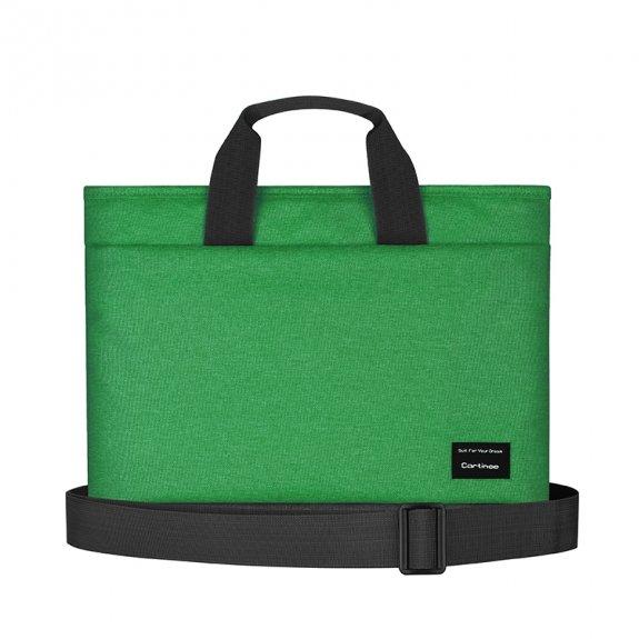 """Cartinoe brašna ve stylu kabelky pro MacBook 13"""" - zelená - možnost vrátit zboží ZDARMA do 30ti dní"""