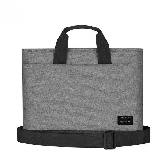 """Cartinoe brašna ve stylu kabelky pro MacBook 13"""" - šedá - možnost vrátit zboží ZDARMA do 30ti dní"""