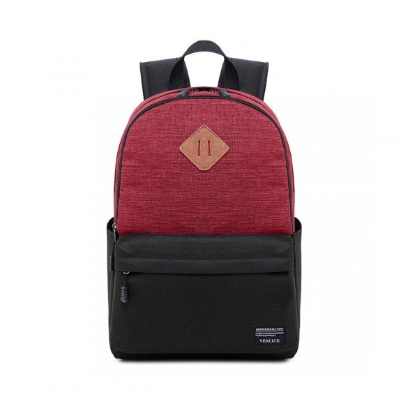"""AppleKing multifunkční batoh vhodný na iPad / MacBook do 15"""" - červeno-černý - možnost vrátit zboží"""