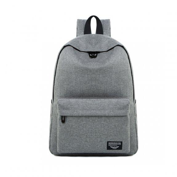 """AppleKing prostorný multifunkční batoh vhodný pro MacBook do 15"""" - šedý - možnost vrátit zboží ZDARMA do 30ti dní"""