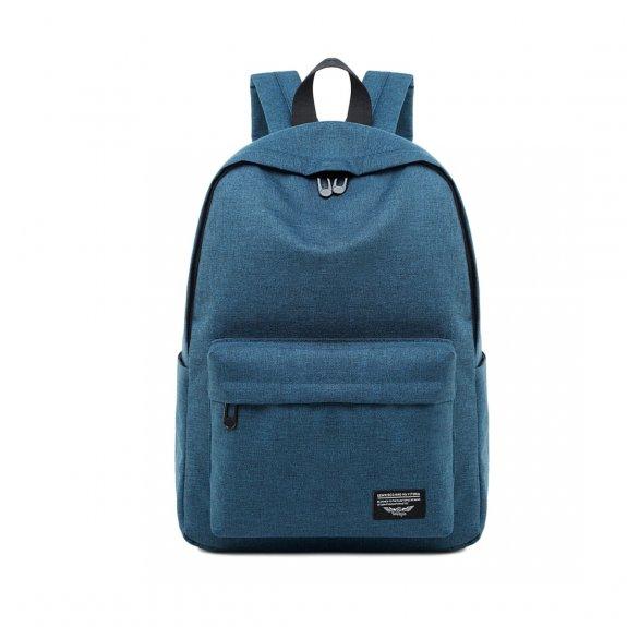 """AppleKing prostorný multifunkční batoh vhodný pro MacBook do 15"""" - modrý - možnost vrátit zboží ZDARMA do 30ti dní"""