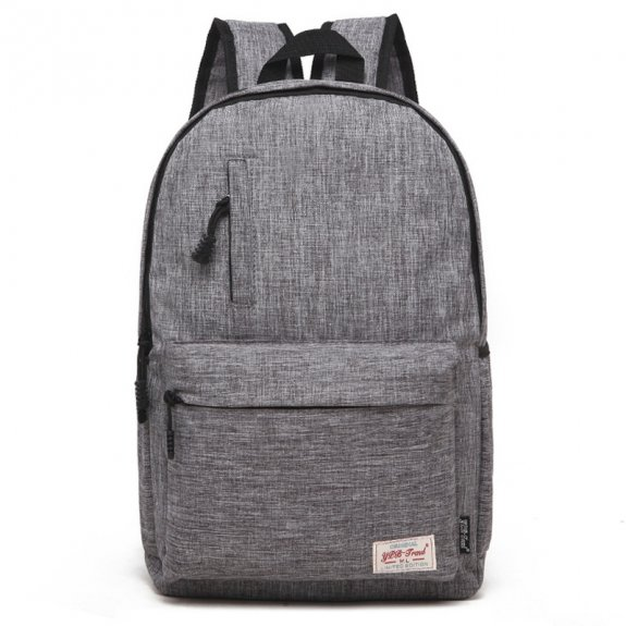 """AppleKing multifunkční studentský batoh vhodný pro iPad / MacBook do 13"""" - šedý - možnost vrátit zbo"""