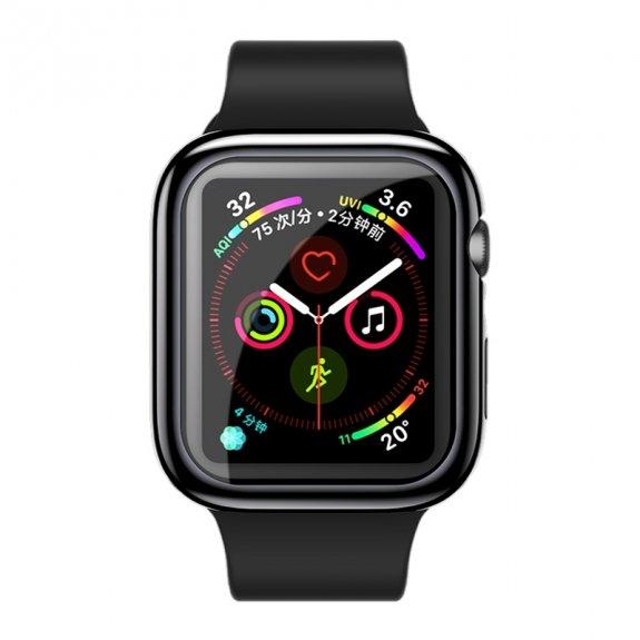 Usams ochranné pouzdro pro Apple Watch 40mm - černé - možnost vrátit zboží ZDARMA do 30ti dní