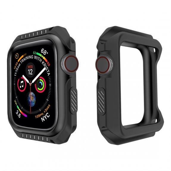 AppleKing odolný kryt pro Apple Watch 38mm - černý - možnost vrátit zboží ZDARMA do 30ti dní