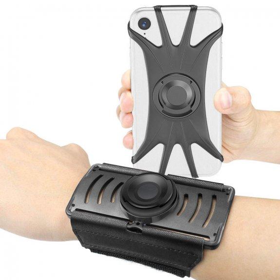 """AppleKing sportovní otočné pouzdro / držák na ruku pro iPhone do 6"""" - možnost vrátit zboží ZDARMA do 30ti dní"""