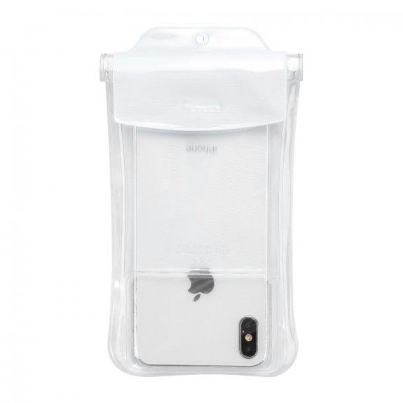 Baseus vodotěsná kapsa na potápění pro iPhone (19 x 10 cm) - bílá - možnost vrátit zboží ZDARMA do 30ti dní