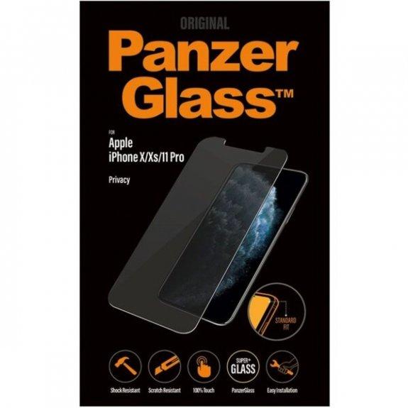 PanzerGlass tvrzené anti-spy sklo pro iPhone X / XS / 11 Pro - čiré 5711724126611 - možnost vrátit zboží ZDARMA do 30ti dní