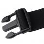 BASEUS sportovní pás / opasek se dvěma kapsami - černý
