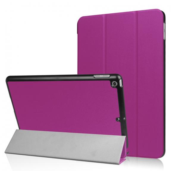 """AppleKing pouzdro / obal s funkcí uspání a stojánkem pro Apple iPad 9.7"""" - fialové - možnost vrátit zboží ZDARMA do 30ti dní"""