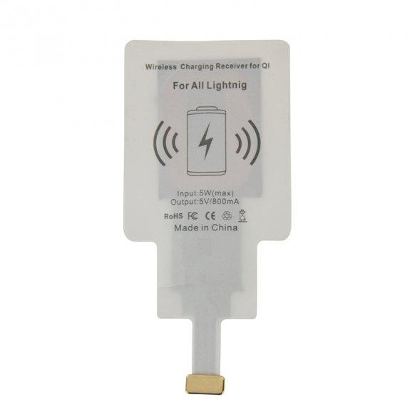 AppleKing qi ultratenký přijímač pro bezdrátové nabíjení pro Apple iPhone s Lightning konektorem - možnost vrátit zboží ZDARMA do 30ti dní
