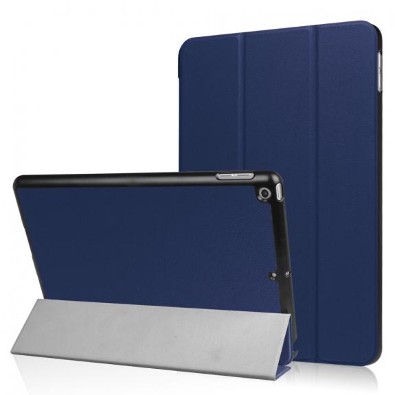 """AppleKing pouzdro / obal s funkcí uspání a stojánkem pro Apple iPad 9.7"""" - tmavě modré - možnost vrátit zboží ZDARMA do 30ti dní"""