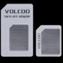 Redukce z Nano SIM karty na Micro SIM a na standardní SIM kartu pro iPhone 4 / 4S / 3G / 3GS - bílá