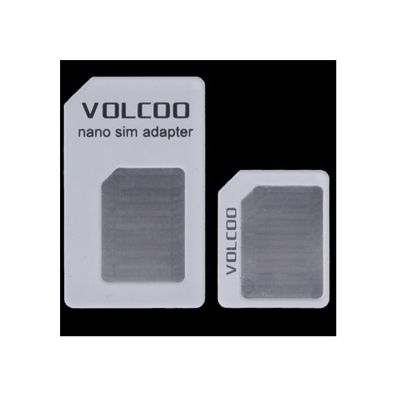 AppleKing redukce z Nano SIM karty na Micro SIM a na standardní SIM kartu pro iPhone 4 / 4S / 3G / 3GS - bílá - možnost vrátit zboží ZDARMA do 30ti dní
