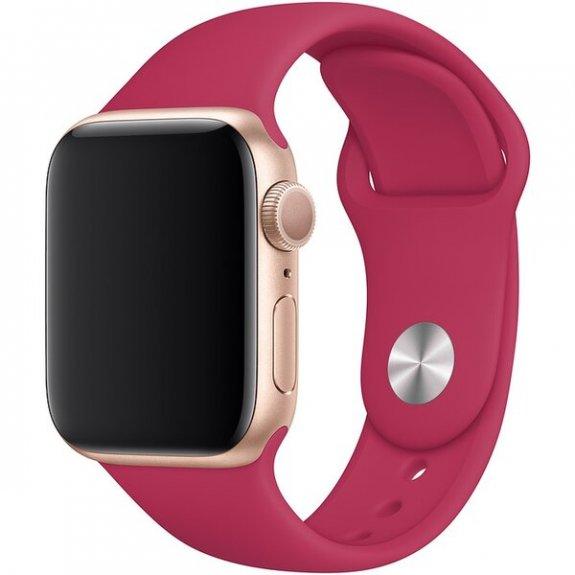 Originální sportovní řemínek pro Apple Watch 44mm - tmavě fuchsiový MWUN2ZM/A - možnost vrátit zboží ZDARMA do 30ti dní