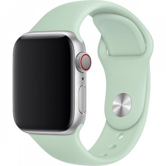Originální sportovní řemínek pro Apple Watch 44mm - berylově zelený MWUQ2ZM/A - možnost vrátit zboží ZDARMA do 30ti dní