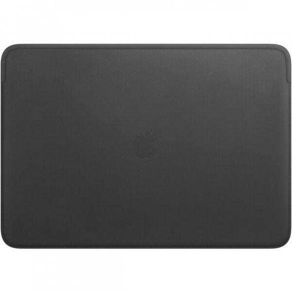 """Originální Apple kožené pouzdro pro MacBook Pro 16"""" - černé MWVC2ZM/A - možnost vrátit zboží ZDARMA do 30ti dní"""