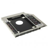 """Výměnný rámeček pro 2,5"""" HDD SATA disk 9,5mm se spodním krytem Apple MacBook Pro"""